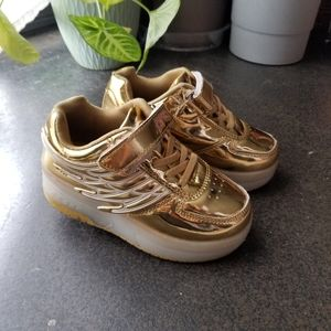 Other - Girls Roller Skate Shoe Gold Size 12